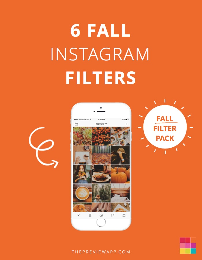Fall Instagram Theme Ideas (6 Filters)