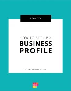 How to Get the Contact Button & Business Profile on Instagram