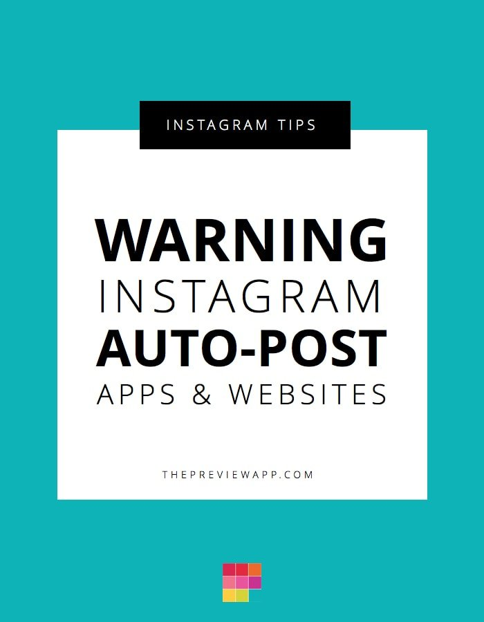 The Truth about Instagram Auto Posts + How to Stay Safe