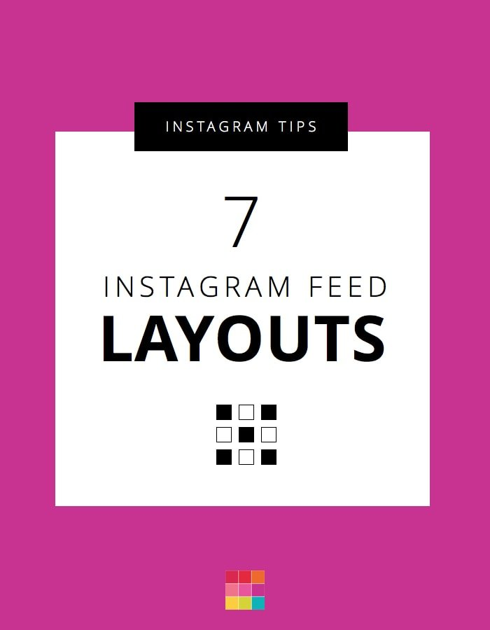 6 Types of Instagram Grid Layouts (planner + tips)