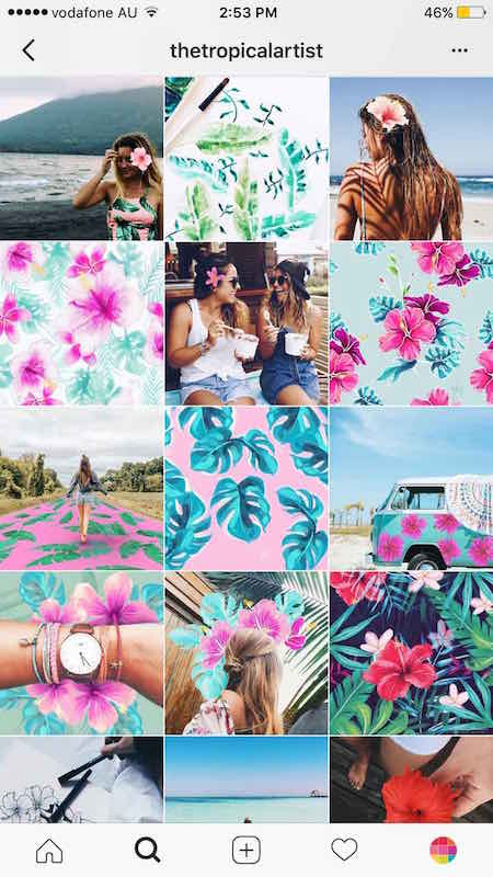 14 instagram theme ideas with tips. Black Bedroom Furniture Sets. Home Design Ideas