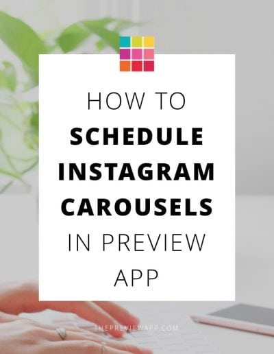How Schedule Instagram Albums in Preview App