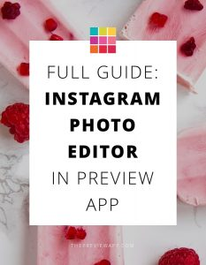 Instagram Photo Editor in Preview App (Full Guide)