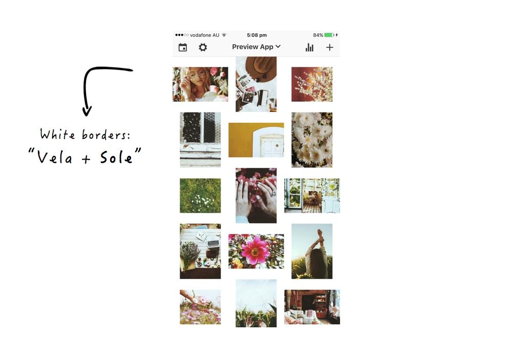 boho instagram theme step by step preview app