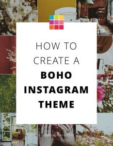 Boho Instagram Theme Step-by-Step (Preview App)