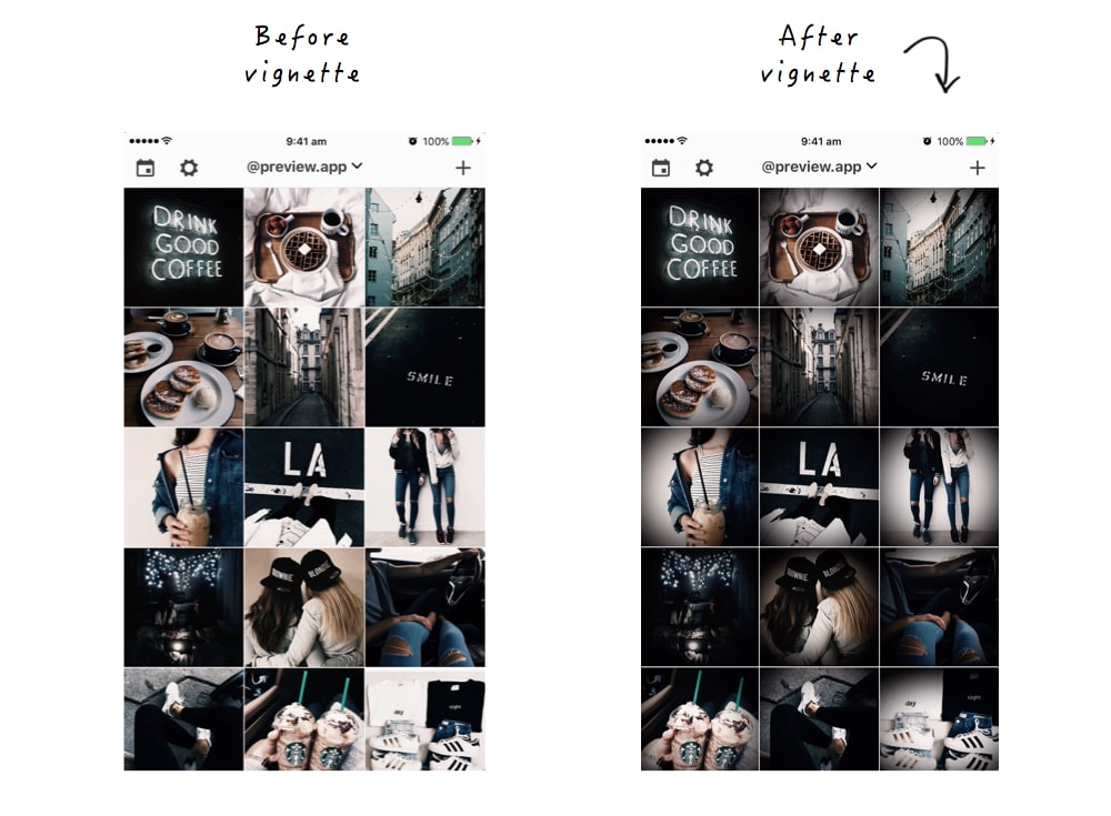 What Do You Think Of This Dark Instagram Theme