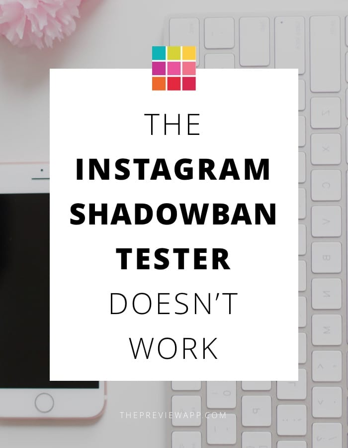 WARNING: The Instagram Shadowban Tester Website Doesn't Work