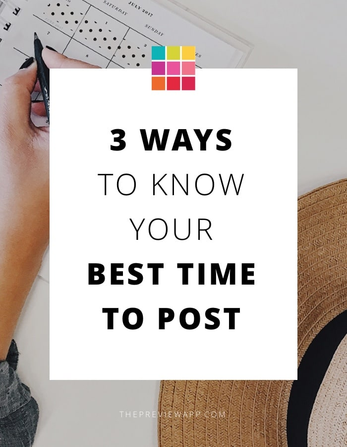 3 Ways to Know your Best Time to Post on Instagram