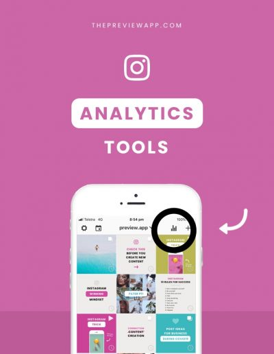 Instagram Analytics Tools (including Competitor Analysis)