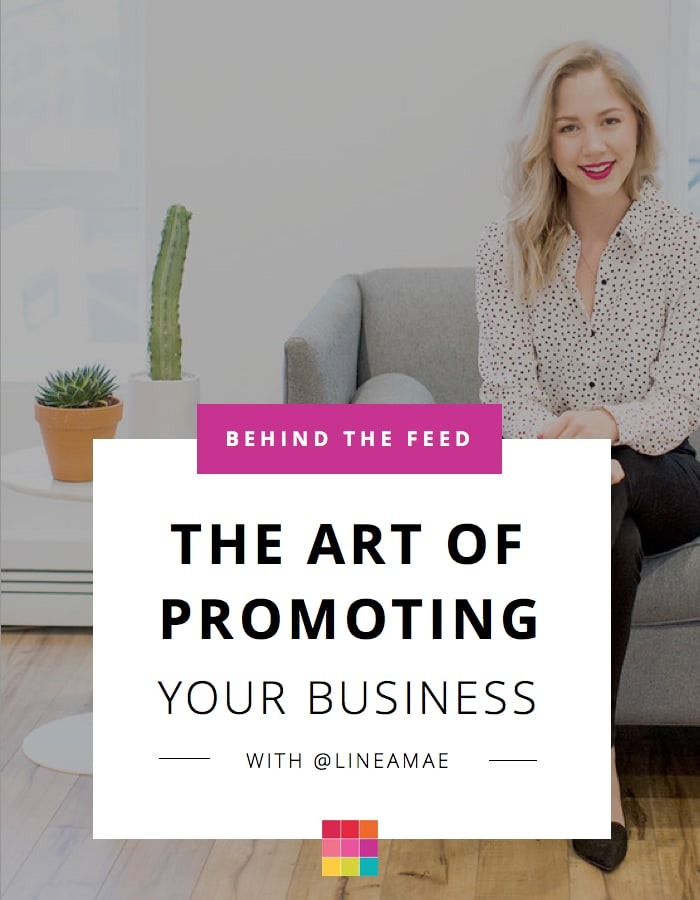 Behind the Feed with Liz White: Promoting your Business on Instagram & Website