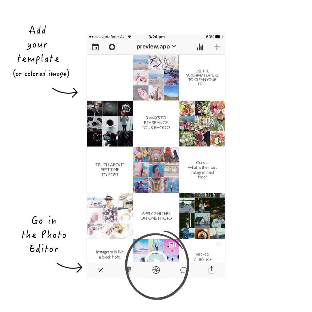 How To Make Templates For Instagram Posts 3 Ways
