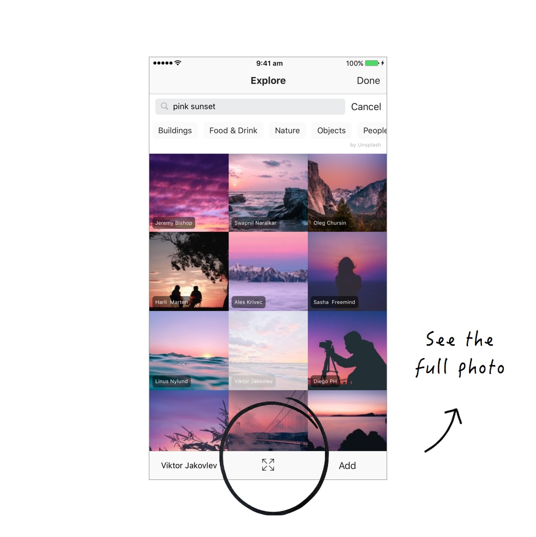 preview app how to add photo