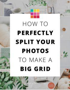 How To Perfectly Split Instagram Grid – 4 Easy Steps with @TwigyPosts