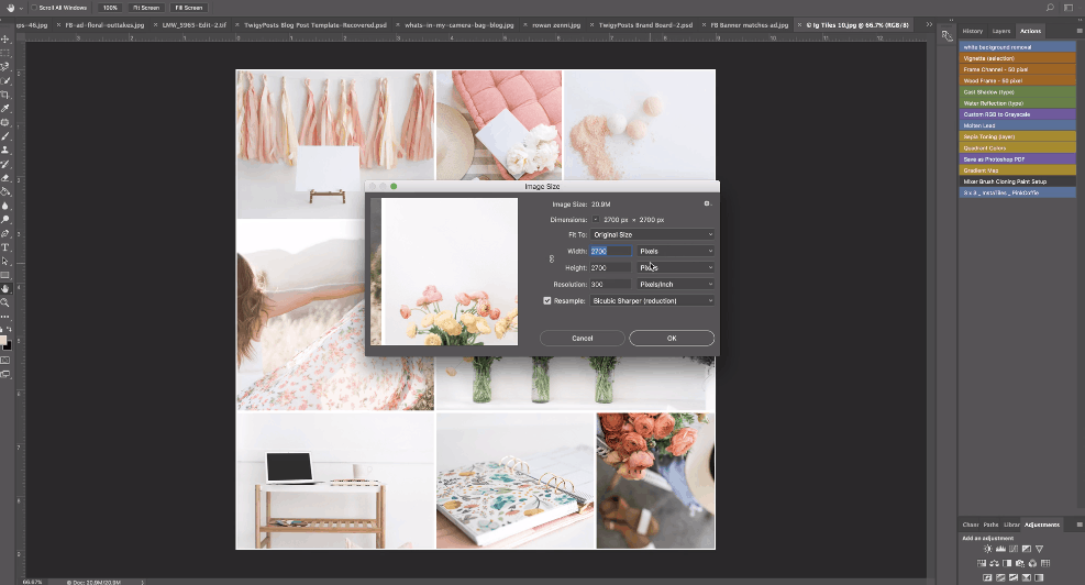 How To Perfectly Split Instagram Grid - 4 Easy Steps with