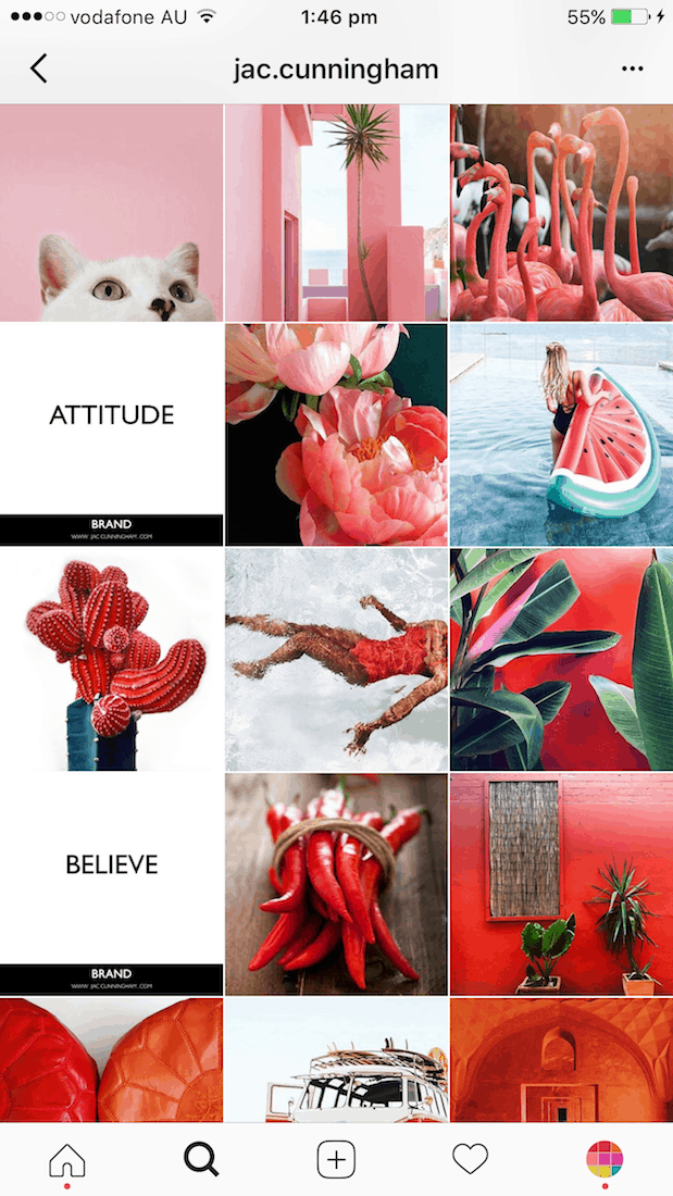 How To Transition Your Instagram Theme Preview App