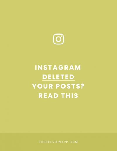 """Instagram deleted my photos"", ""My Account Disappeared"": What's happening?"