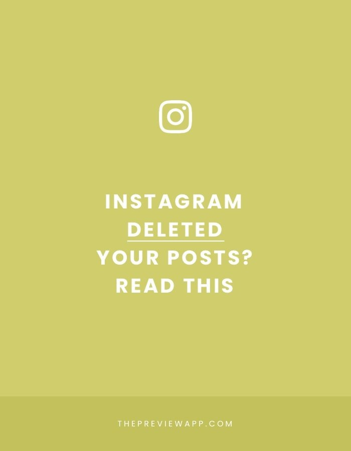 Instagram deleted photos my account disappeared whats happening instagram deleted my photos my account disappeared whats happening ccuart Images