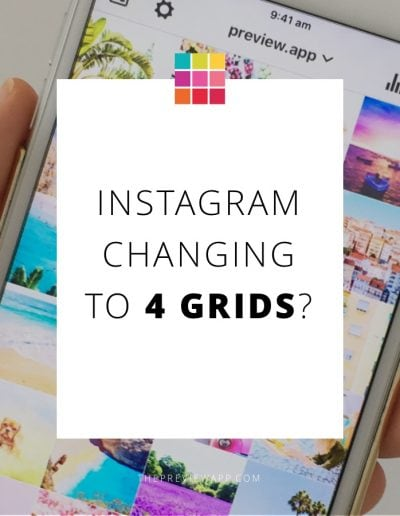 Instagram with 4 grids? How does it look like? Is it really going to happen?