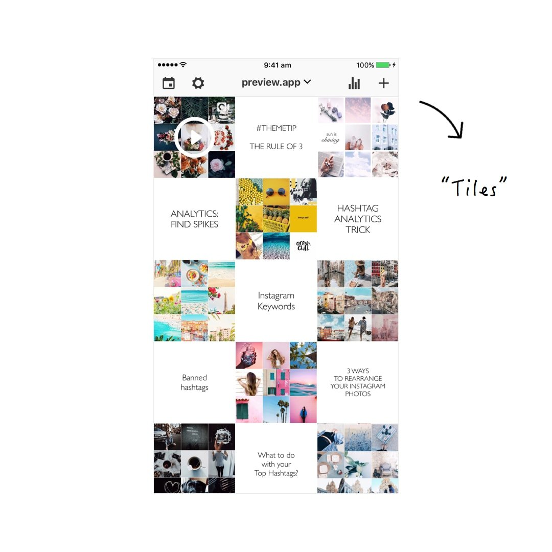 How I Schedule my Instagram Feed 1 Month in Advance (using