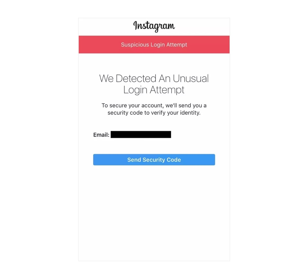 Can't I login to my Instagram account on a website or app. What to do