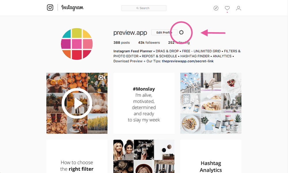 can t i login to my instagram account on a website or app
