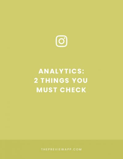 How to Use Instagram Analytics to Grow your Account