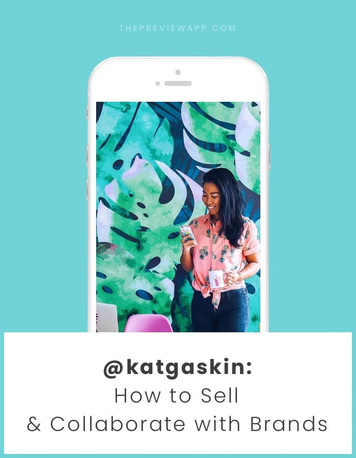 Behind The Feed with Kat Gaskin: How to Collaborate with Brands & Sell on Instagram?