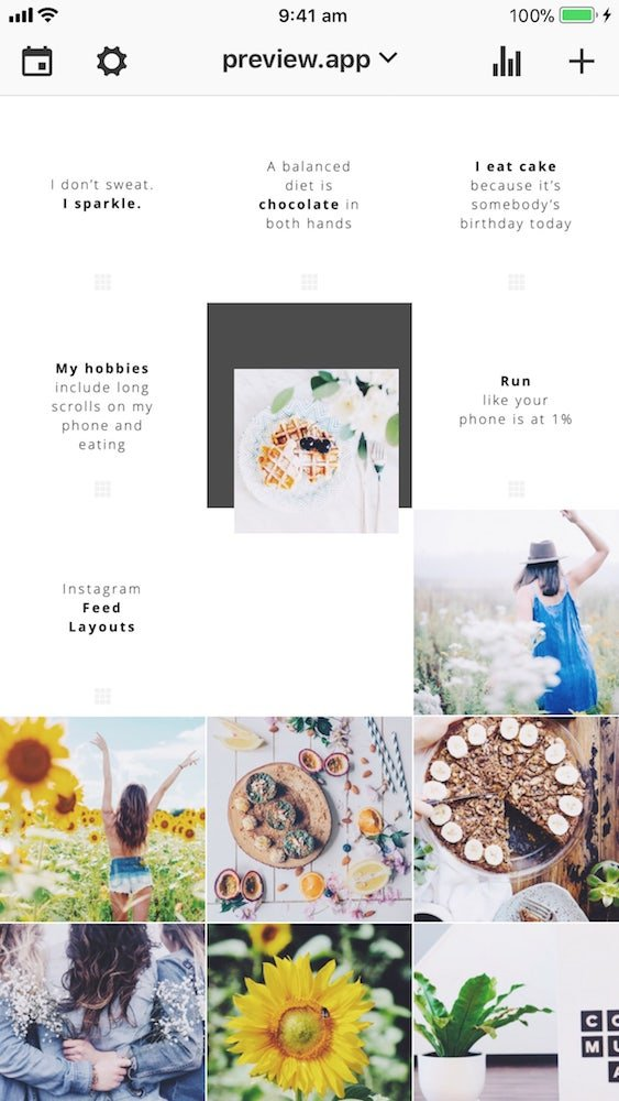 "How To Make A ""Tiles"" Feed Instagram Layout? (with Quotes"