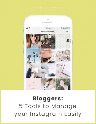 5 Essentials Instagram Tools for Serious Bloggers (2018)