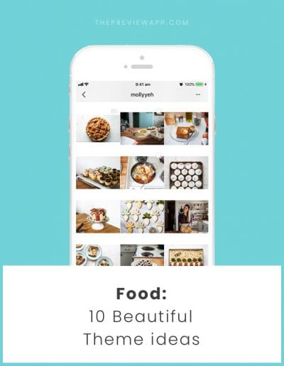 Food Instagram Accounts Ideas (10 designs)