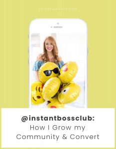 How To Grow your Instagram Community and Conversion (with Jennifer @InstantBossClub)
