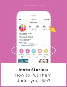 How to Put Insta Stories under your Instagram Bio? (Full Tutorial)