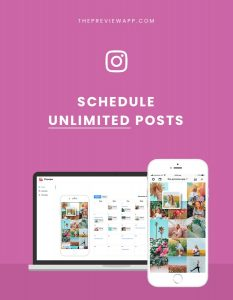 Preview App: Schedule Instagram Posts (Free + Unlimited)