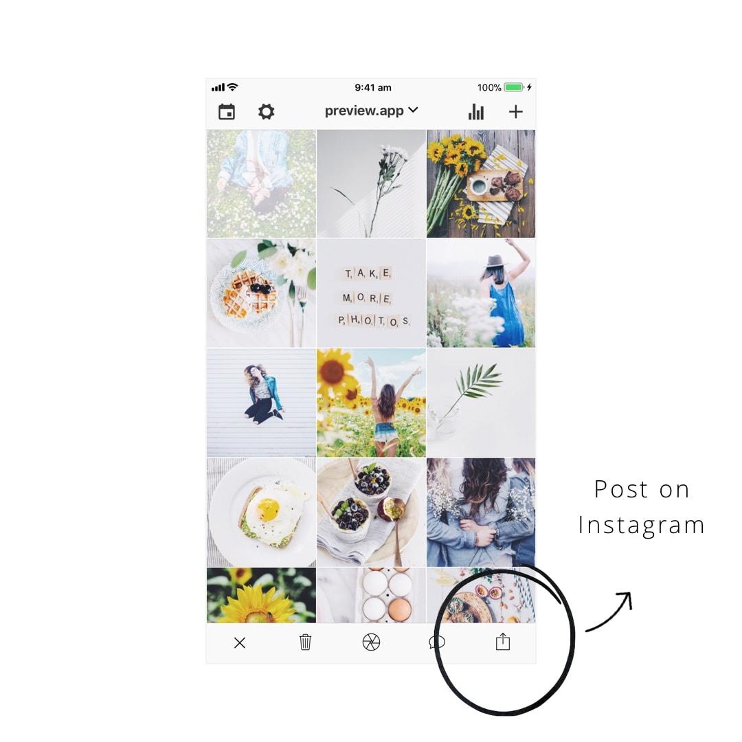 Preview App: Schedule Instagram Posts (Free + Unlimited)