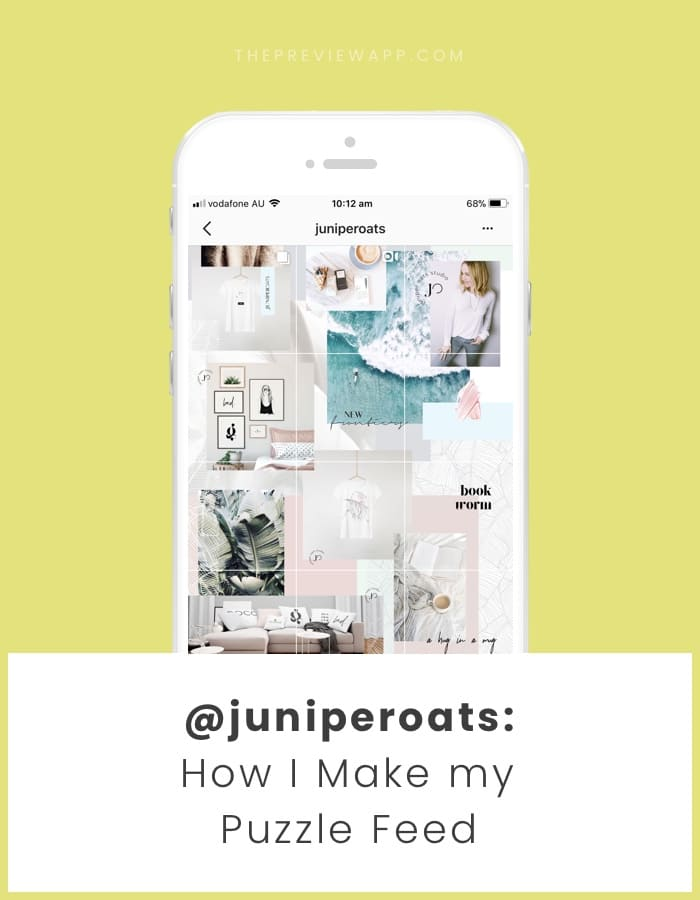 5 Steps to Make a Beautiful Puzzle Instagram Grid Feed (+