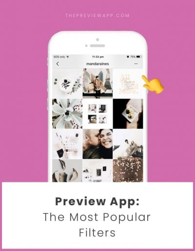 Most Popular Instagram Filters in Preview app