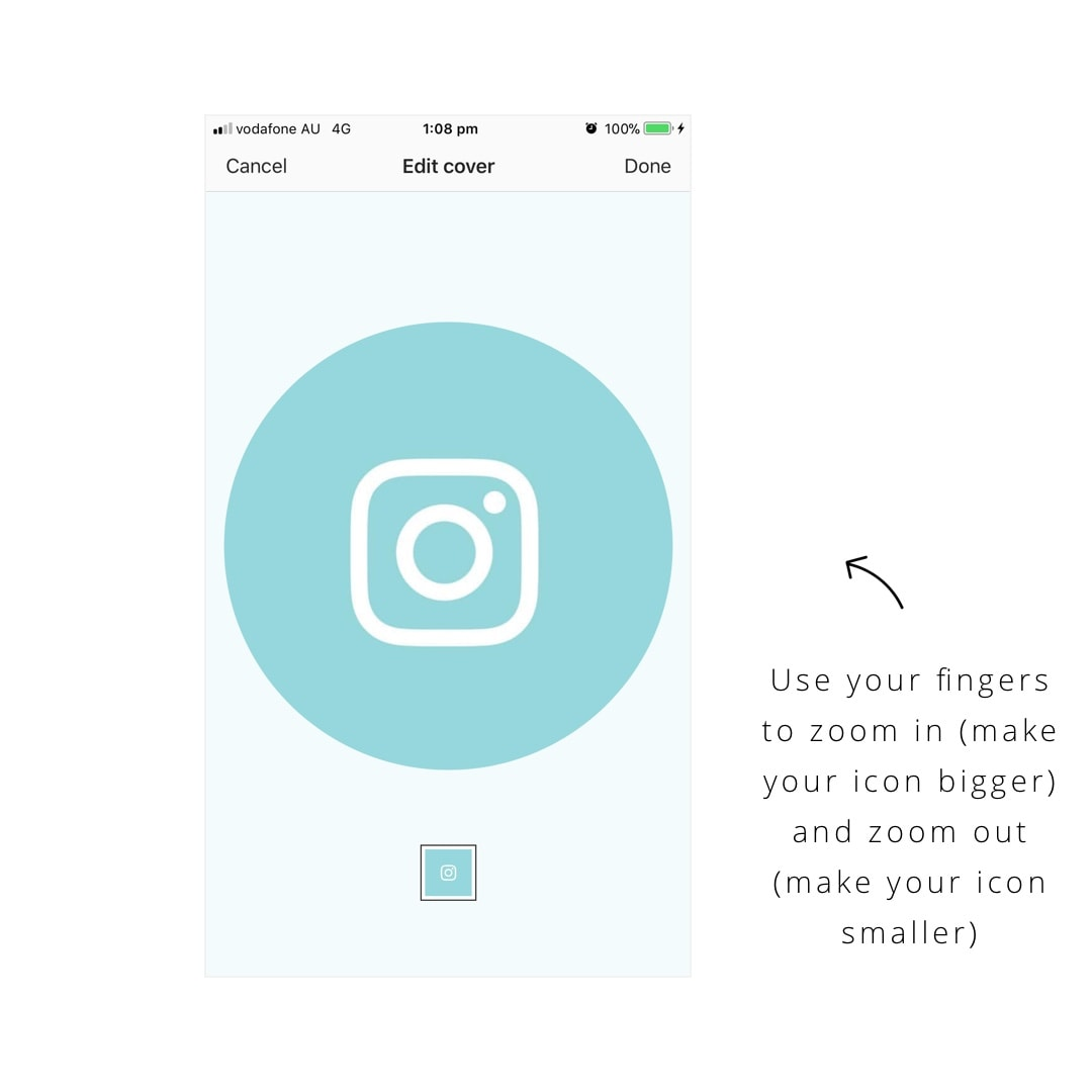 How To Make Beautiful Insta Story Highlight Covers Custom Icons