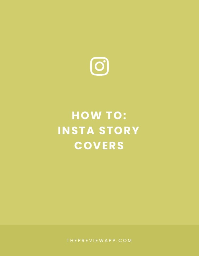 How to make beautiful Insta Story Highlight covers