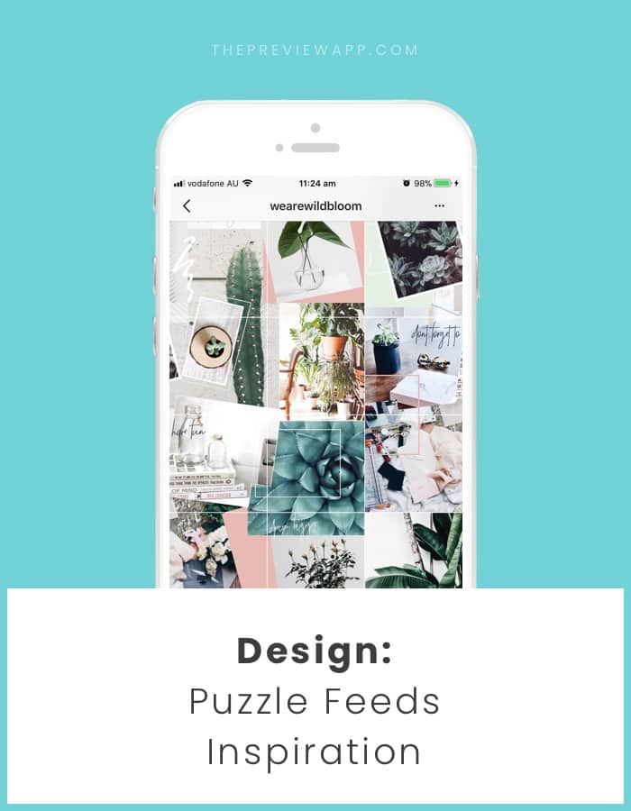 Feeds That Split Instagram Photos into Grids (How to + inspiration)