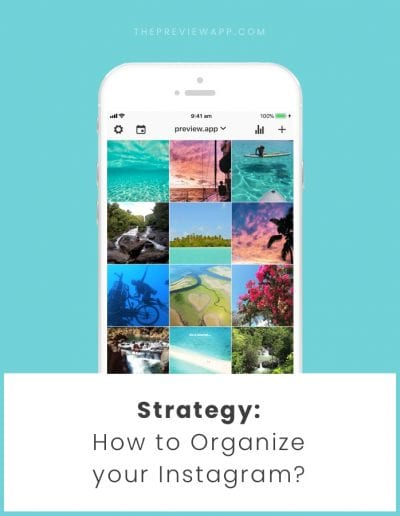 Organize your Instagram like a BOSS