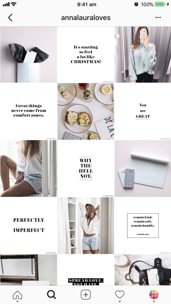 9 Types Of Instagram Grid Layouts Planner Tips