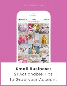 Instagram Tips for Small Business (Planning, Targeting, Algorithm…)