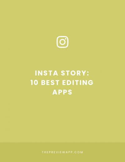 Top 10 Best Apps to Edit Insta Stories
