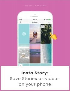 How to Save your Insta Stories as Videos on your Phone Camera Roll?