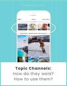 """Topic Channels"" on Instagram Explore page: How do they work? How to use them?"