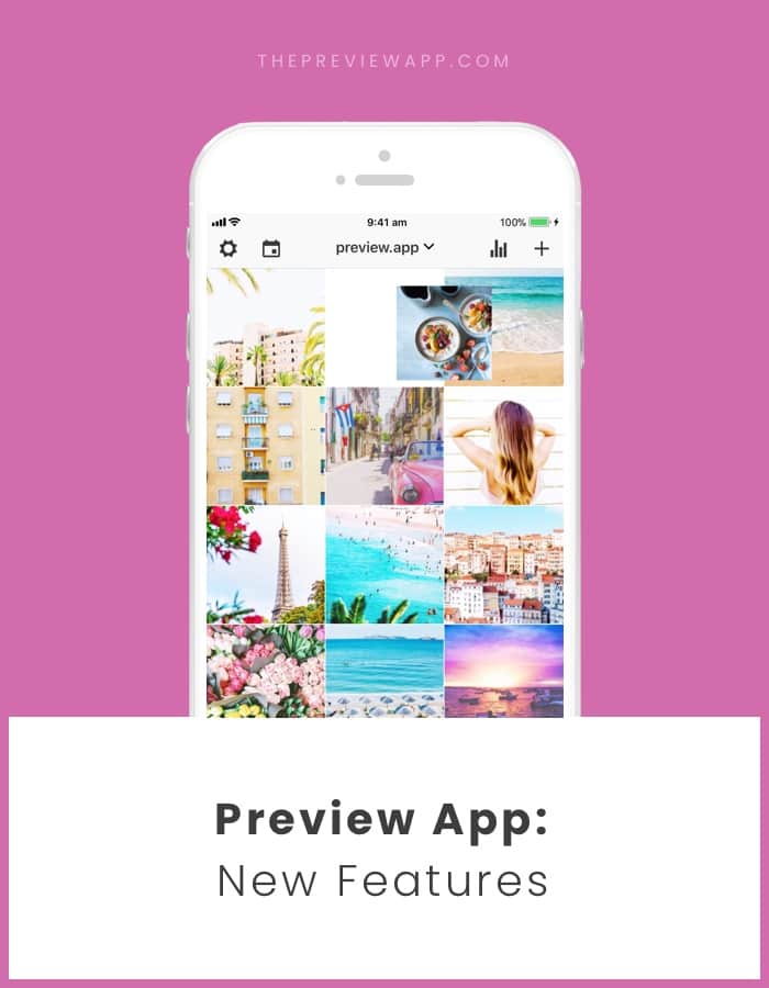 New Features in Preview App!