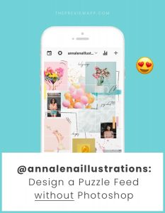 How to Design a Creative Instagram Puzzle Feed using Canva?