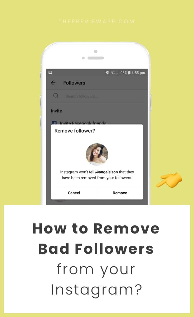 How to Remove Followers on Instagram?