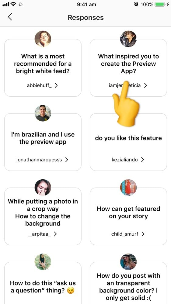 How To Put A Photo In The Background When You Answer An Insta Story