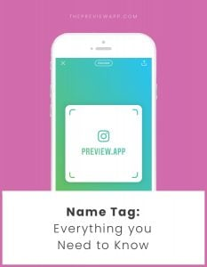 How to Use the Instagram Name Tag / QR Code (EVERYTHING you Need to Know)